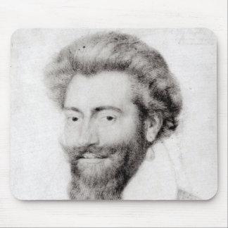 Portrait of a Bearded Man Mouse Mat