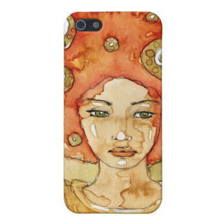 Portrait of a beautiful girl iPhone 5/5S case