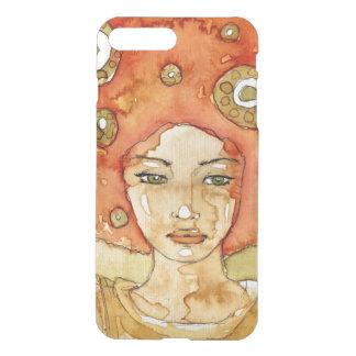 Portrait of a beautiful girl iPhone 8 plus/7 plus case