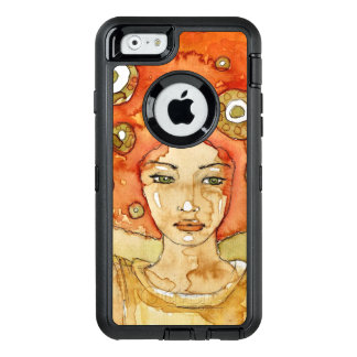 Portrait of a beautiful girl OtterBox iPhone 6/6s case