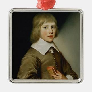 Portrait of a Boy Christmas Ornament