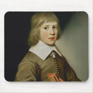 Portrait of a Boy Mouse Mat