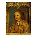 Portrait of a Boy with Blonde Hair by Hans Holbein