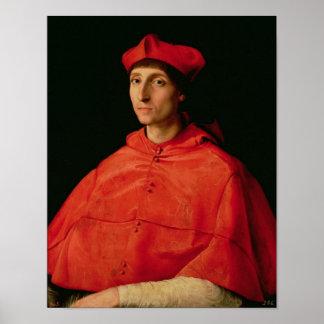 Portrait of a Cardinal 2 Poster