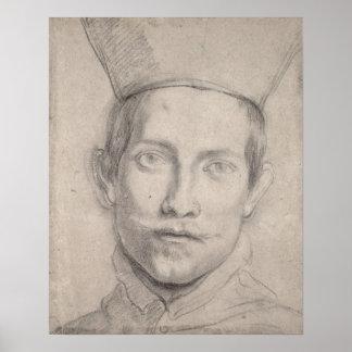Portrait of a Cardinal Poster
