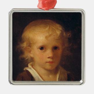 Portrait of a Child Christmas Ornament