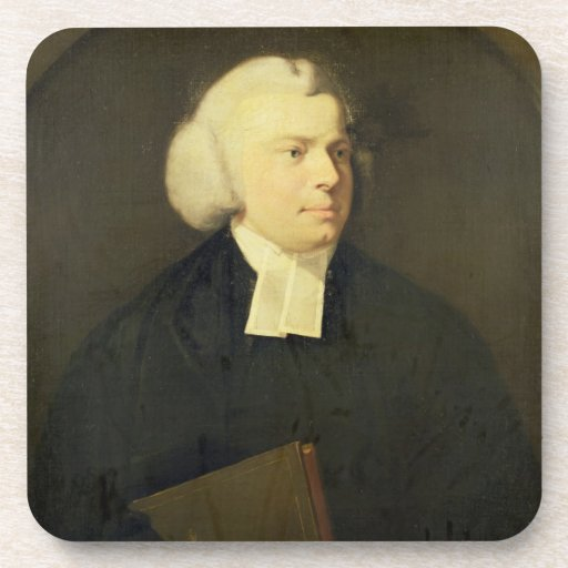 Portrait of a Clergyman Beverage Coasters