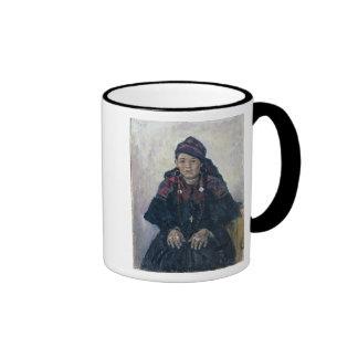 Portrait of a Cossack Woman, 1909 Mug