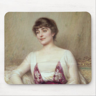 Portrait of a Countess Mouse Mat
