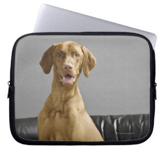 Portrait of a dog laptop sleeve