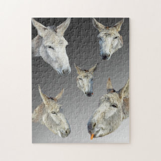 Portrait Of A Donkey, Jigsaw Puzzle