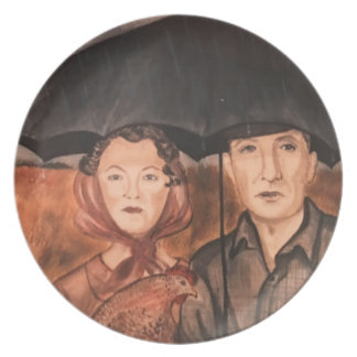 Portrait Of A Dream Plate