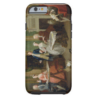 Portrait of a Family, 1730s (oil on canvas) Tough iPhone 6 Case