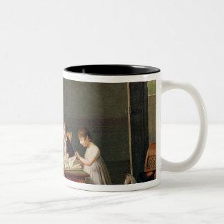 Portrait of a Family, 1800-01 Two-Tone Coffee Mug