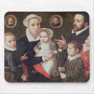 Portrait of a family mouse pad