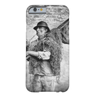 Portrait of a Fisherman Carrying his Nets (b/w pho Barely There iPhone 6 Case