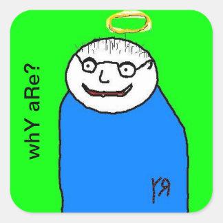 Portrait of a Friend Sticker