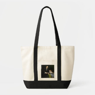 Portrait of a Gentleman in his Study, 1528-30 (oil Tote Bag
