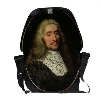 Portrait of a Gentleman (oil on canvas) Commuter Bag