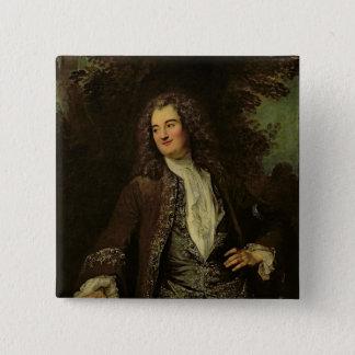 Portrait of a Gentleman, or Portrait of Jean 15 Cm Square Badge