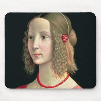 Portrait of a Girl, c.1490 Mouse Pad