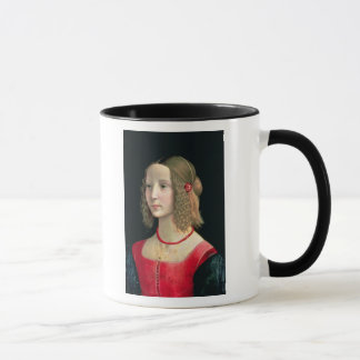 Portrait of a Girl, c.1490 Mug