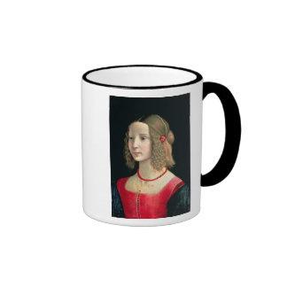 Portrait of a Girl, c.1490 Ringer Mug