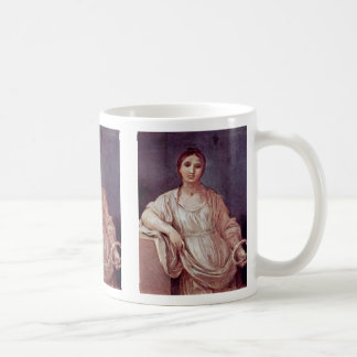 Portrait Of A Girl With Crown By Reni Guido Coffee Mug