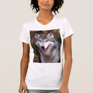 Portrait of a gray wolf T-Shirt
