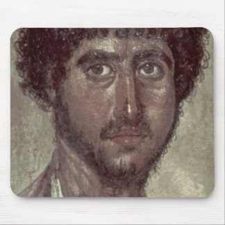Portrait of a Greek, from Fayum, Romano-Egyptian, Mouse Pad