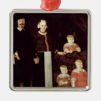 Portrait of a Hamburg Family, c.1640 Christmas Ornament