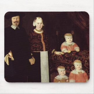 Portrait of a Hamburg Family, c.1640 Mouse Pad