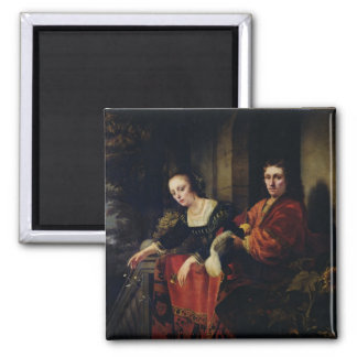 Portrait of a Husband and Wife, 1654 Magnet