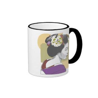 Portrait of a Japanese Woman Mug