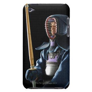 Portrait of a Kendo Fencer 2 iPod Touch Case