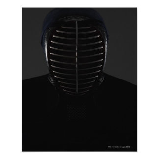 Portrait of a Kendo Fencer 5 Poster