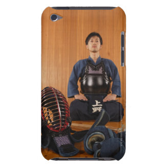 Portrait of a Kendo Fencer With Equipment iPod Touch Case-Mate Case