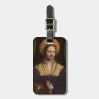 Portrait of a lady, 1520-1525 (oil on panel) luggage tag