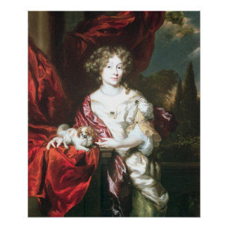 Portrait of a Lady, 1677 Poster