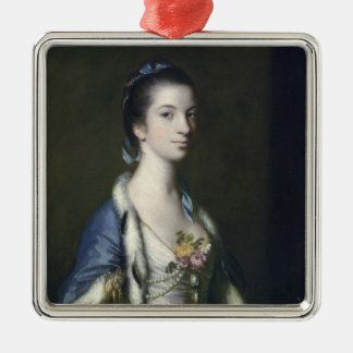 Portrait of a Lady, 1758 Christmas Ornament