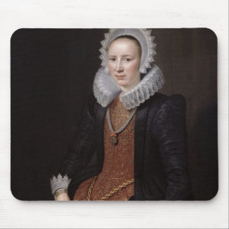Portrait of a Lady aged 29, 1615 Mouse Pad