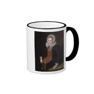 Portrait of a Lady aged 29, 1615 Coffee Mug
