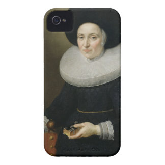 Portrait of a Lady, aged 47, 1647 (oil on canvas) iPhone 4 Case