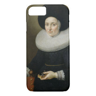 Portrait of a Lady, aged 47, 1647 (oil on canvas) iPhone 8/7 Case