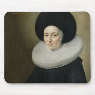 Portrait of a Lady, aged 47, 1647 (oil on canvas) Mouse Mat