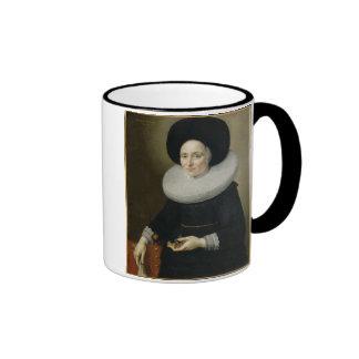 Portrait of a Lady, aged 47, 1647 (oil on canvas) Coffee Mug