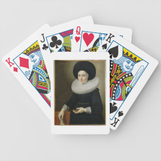 Portrait of a Lady aged 47 1647 oil on canvas Poker Deck