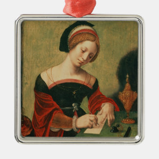 Portrait of a Lady as the Magdalen Christmas Ornament