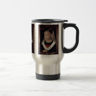 Portrait Of A Lady By Memling Hans Coffee Mug