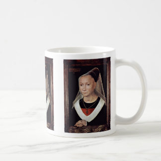 Portrait Of A Lady By Memling Hans Coffee Mugs